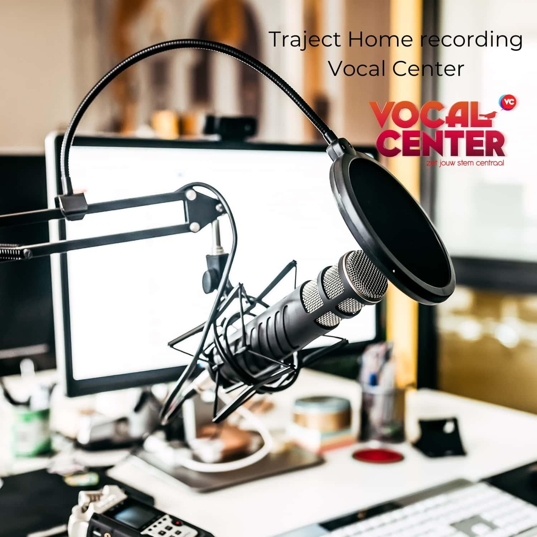 Thuis opnemen van je stem, Recording van je stem.